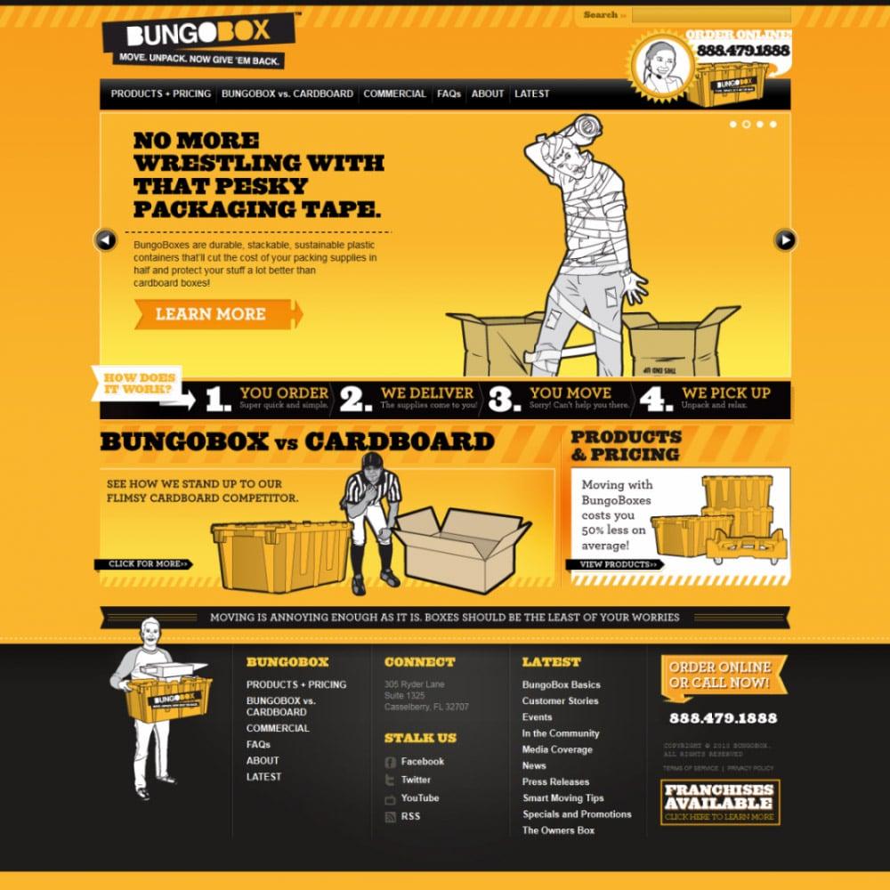 Website for Bungobox