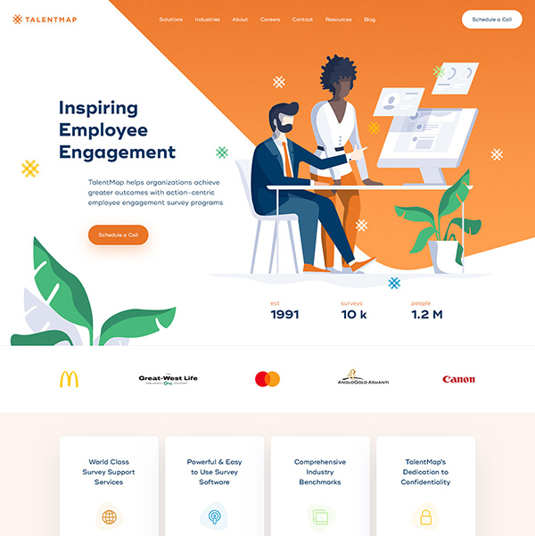 Talent Map Web Development