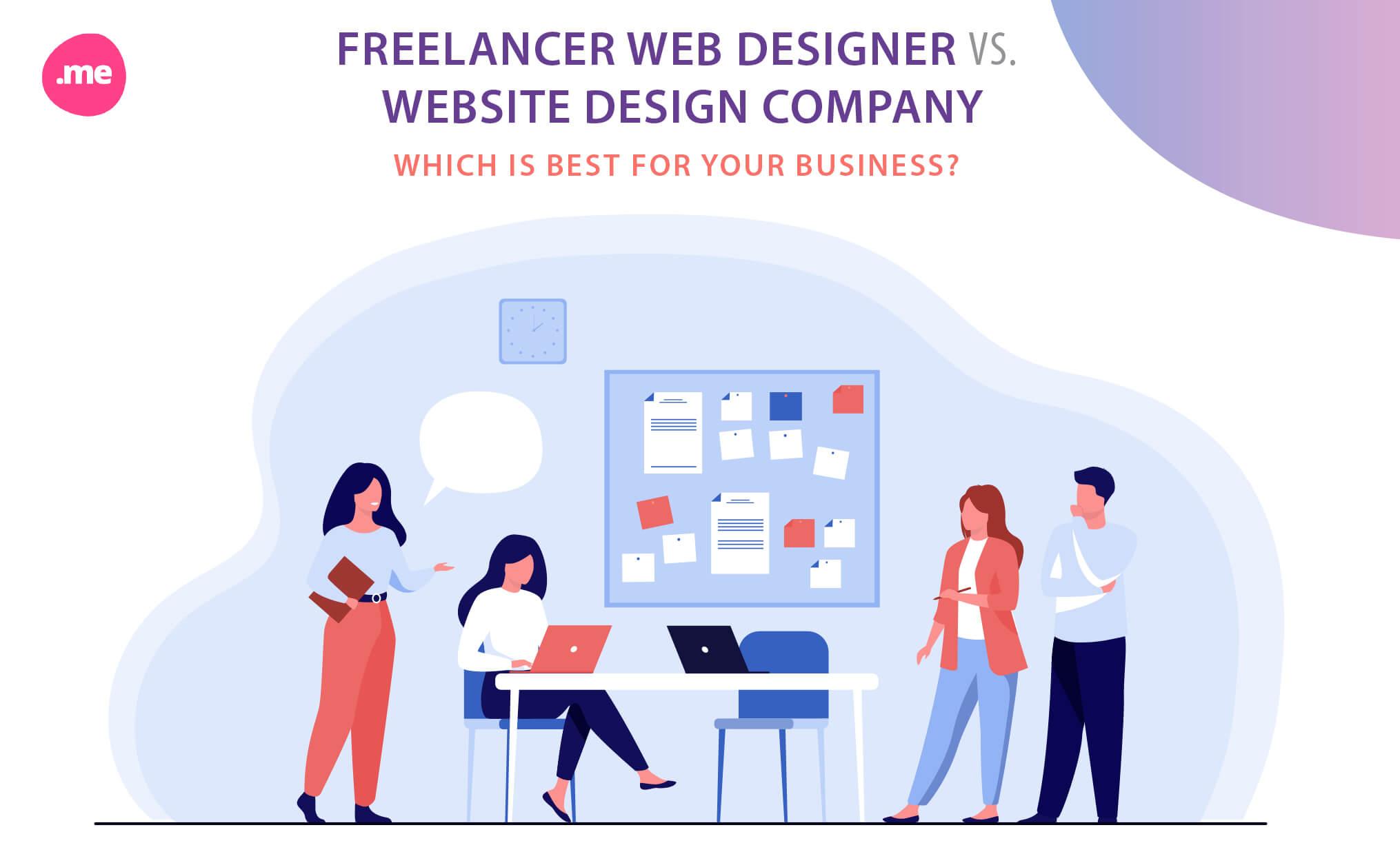Hiring Freelancer VS Web Design Company
